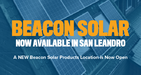 Solar Products Now Available in San Leandro