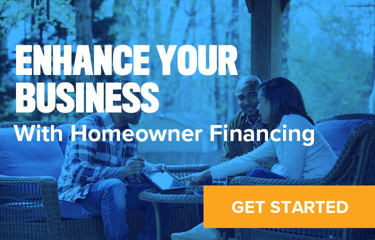 Link to Homeowner Finance sign up