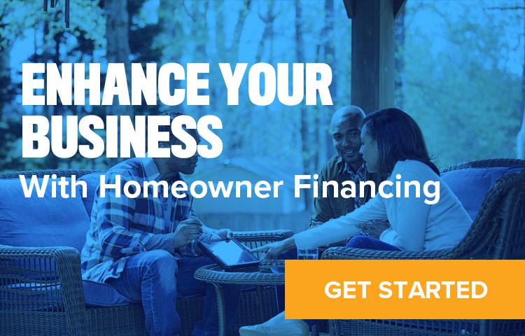 Link to Homeowner Finance sign up