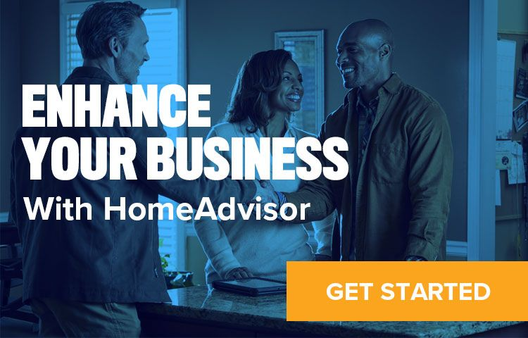 Link to HomeAdvisor sign up