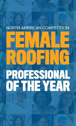 Female Roofing Professional of the Year