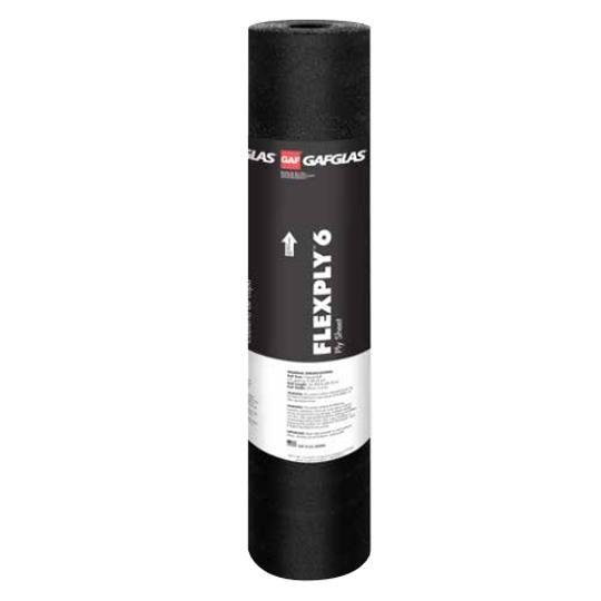 GAFGLAS® FlexPly 6 Ply Sheet - 5 SQ. Roll