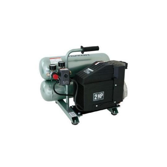 Portable 4 Gallon Twin Stack Air Compressor