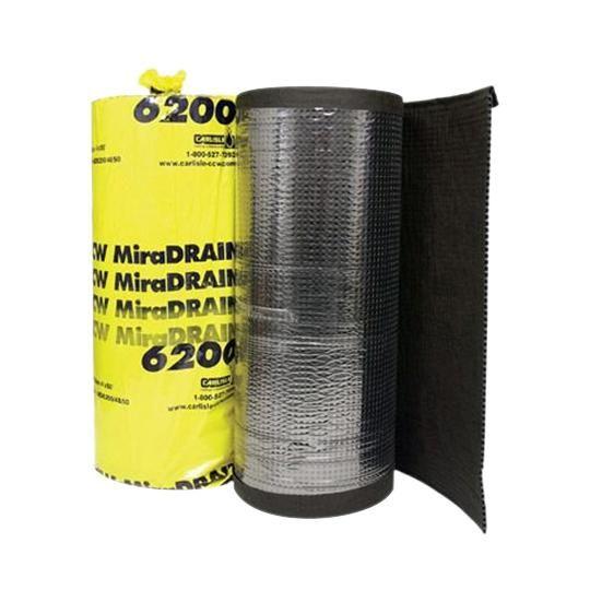 4' x 50' MiraDRAIN® 6200 Drainage Composite Roll