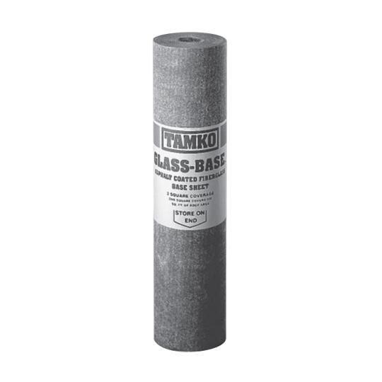 Glass-Base Fiberglass Base Sheet - 3 SQ. Roll