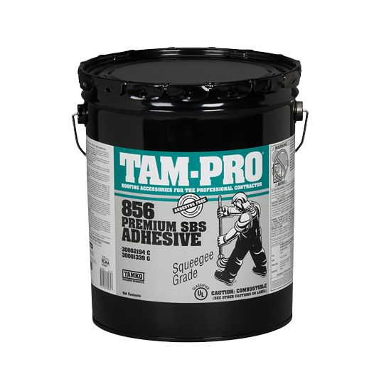 TAM-PRO 856 Premium SBS Adhesive - 5 Gallon Pail
