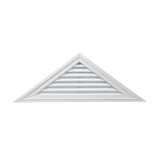 """17"""" x 70-1/2"""" Triangle Gable Vent with 5/12 Pitch"""