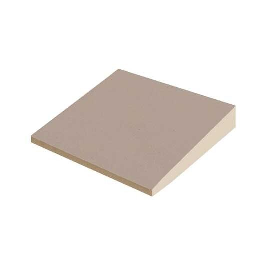 """A (1"""" to 1-1/2"""") Tapered 4' x 4' Grade-2 (20 psi) Polyiso"""
