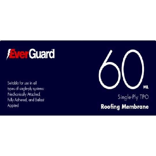 60 mil x 10' x 100' EverGuard® TPO Membrane