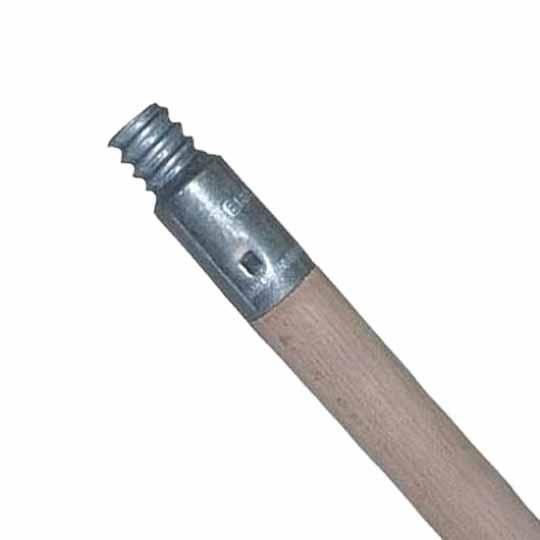 """60"""" x 15/16"""" Metal Threaded Broom Handle"""