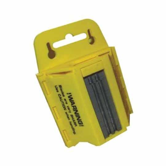 Utility Blade Dispenser Box with 100 Utility Blades