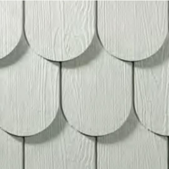 HardieShingle® Side Half Round Panel