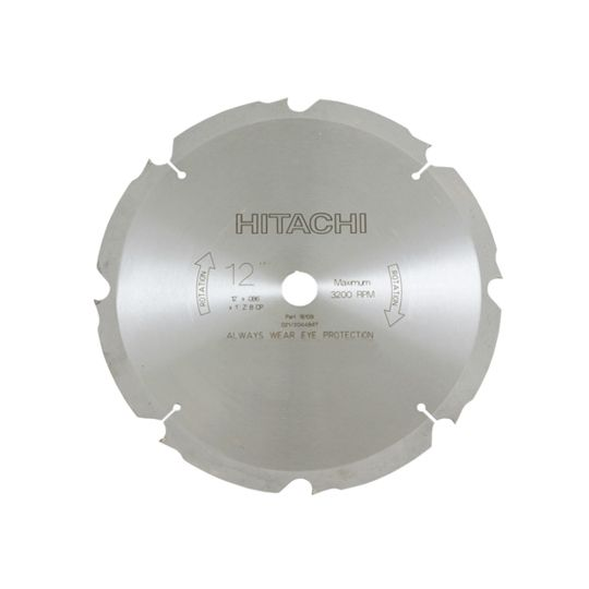 "12"" Fiber Cement Saw Blade - 8 Teeth"