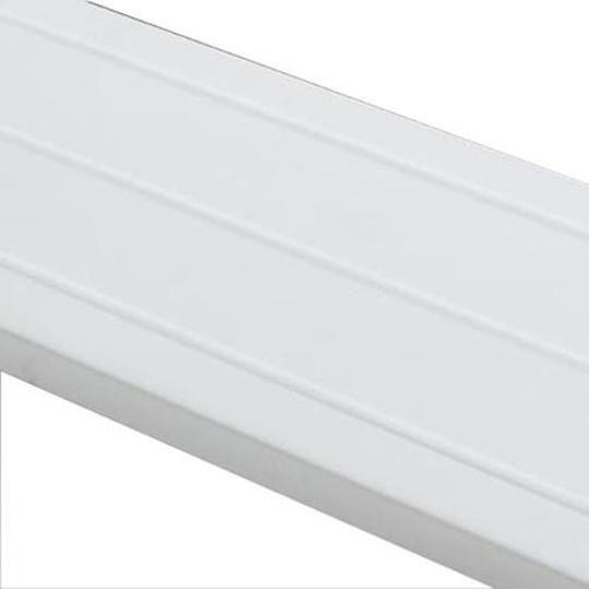 """.019"""" x 6"""" x 12' Painted Aluminum Fascia"""