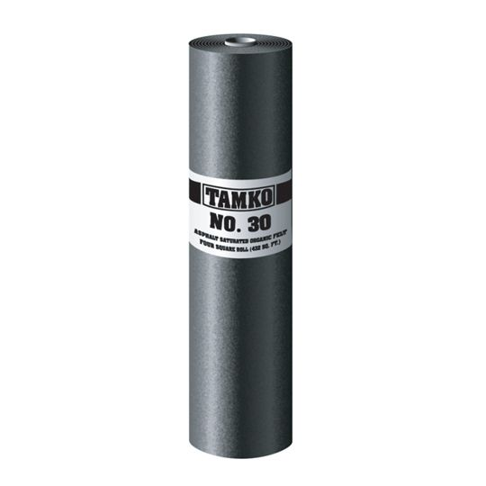 No. 30 Asphalt Saturated Organic Felt - 2 SQ. Roll
