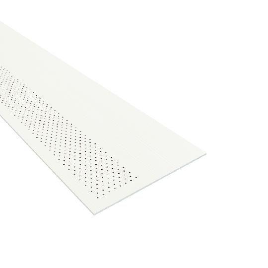 "1/4"" x 16"" x 12' HardieSoffit® Vented-Cedarmill Panel for HardieZone® 5"