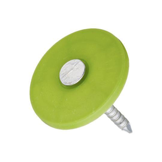 """1"""" Plastic Cap Nails - Carton of 2,000"""