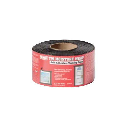 "6"" x 75' TW Moisture Wrap Self-Adhering Rubberized Asphalt Sheet Membrane - Winter Grade"