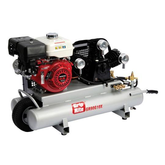 9 HP Gas Wheelbarrow Compressor