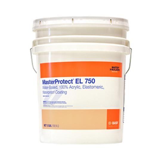 MasterProtect® EL 750 Waterproof Coating - Smooth Texture - 5 Gallon Pail