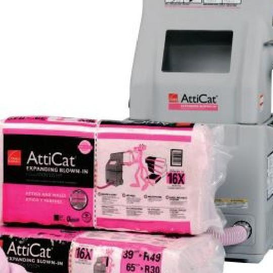 L38P AttiCat® LooseFill Blow-In Pink® Fiberglas™ Insulation