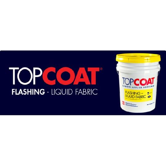 TOPCOAT® Liquid Fabric Flashing - 5 Gallon Pail