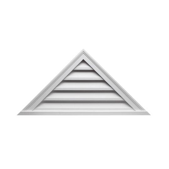 "60"" x 25"" Decorative Triangle Louver"