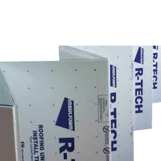 R-Tech® Fanfold Recover Board