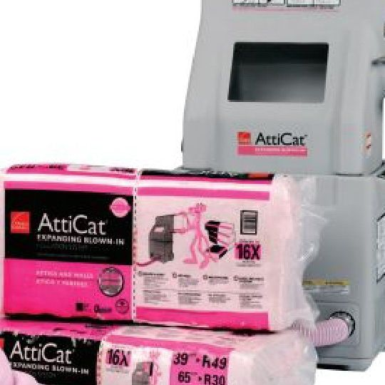 L38A AttiCat® Expanding Blown-In PINK® Fiberglas™ Insulation - 28.5 Lb. Bag