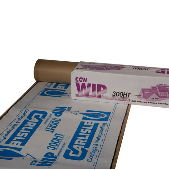 WIP 300HT High-Temp Protection Self-Adhering Roofing Underlayment - 2 SQ. Roll