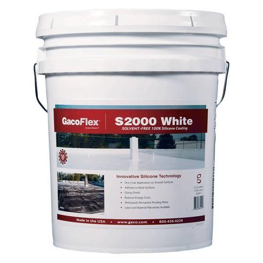 GacoFlex® S20 Silicone Coating - 5 Gallon