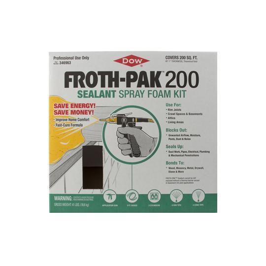FROTH-PAK™ 200 Kit