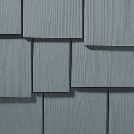 "1/4"" x 15.25"" x 48"" HardieShingle® Staggered Edge Panel for HardieZone® 5"