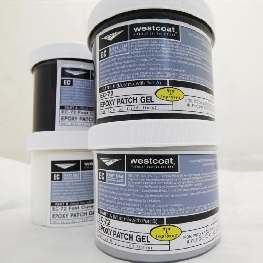 EC-72 Epoxy Patch Gel - 1/2 Gallon Kit
