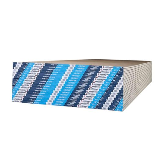 "1/2"" x 4' x 12' LightRoc® Gypsum Board"