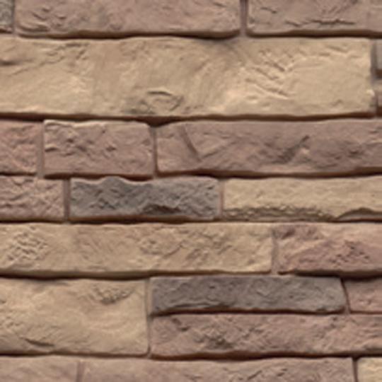 "21"" Premium Stacked Stone 90° Outside Corner Post"