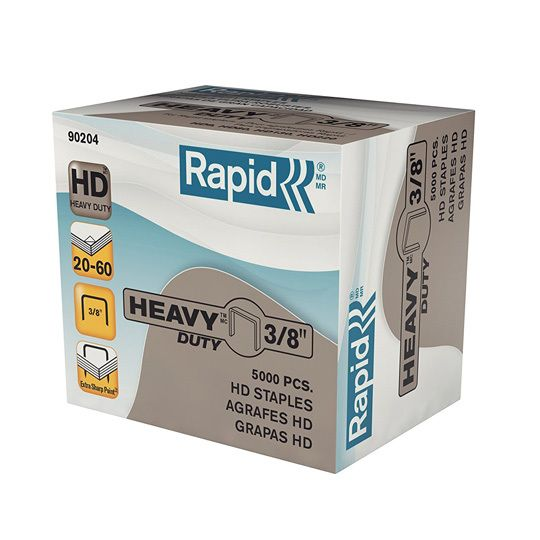 "3/8"" Staples - Box of 5,000"