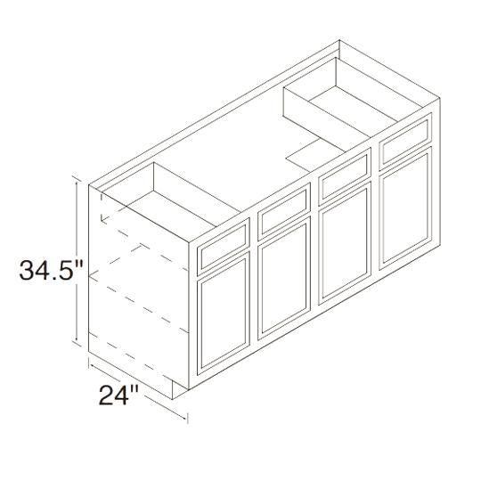 60SB Chadwood Sink Base Cabinet