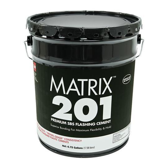 Matrix™ 201 Premium SBS Flashing Cement