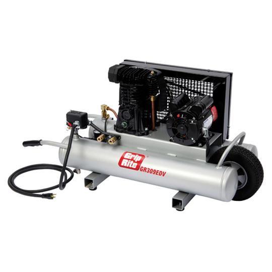 9 Gallon 3 HP Electric Wheelbarrow Compressor