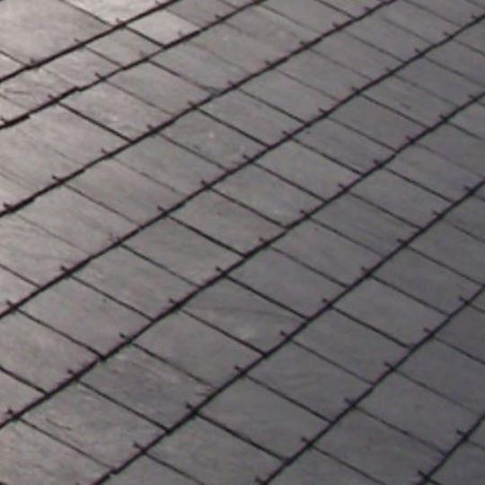 """14"""" x 10"""" Del Carmen Grey Roofing Slate"""