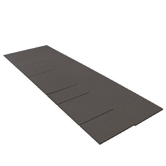 "1/4"" x 15.25"" x 48"" HardieShingle® Straight Edge Panel for HardieZone® 5"