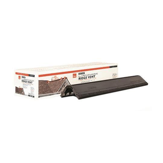4' VentSure® Heat & Moisture Ridge Vent Strip with Baffle