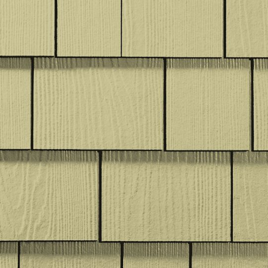 "1/4"" x 15.25"" x 48"" HardieShingle® Straight Edge Panel for HardieZone® 10"