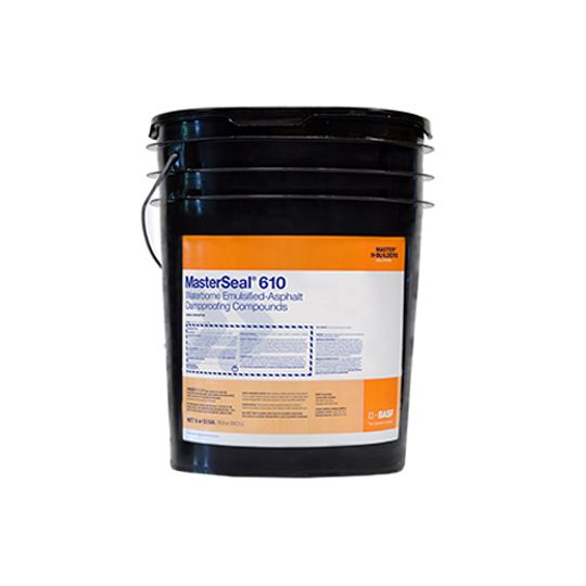 MasterSeal® 610 Cold-Applied Water-Based Coating - 5 Gallon Pail