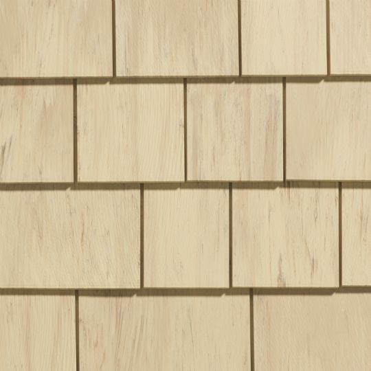 "Cedar Impressions® Individual 5"" Sawmill Polymer Shingle Siding - 25 Sq. Ft. Carton"