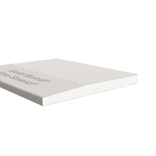 "5/8"" x 4' x 12' Gold Bond® Fire-Shield® Tapered Edge Gypsum Board"