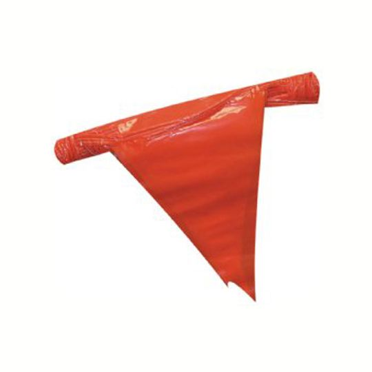 "12"" x 18"" Pennant Flags 105' Strand"