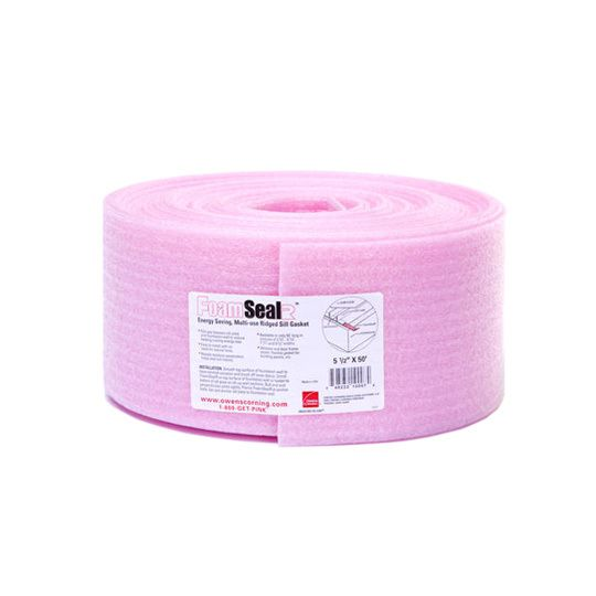 """3-1/2"""" x 1/4"""" x 50' FoamSealR™ Sill Plate Gasket - Single Roll"""