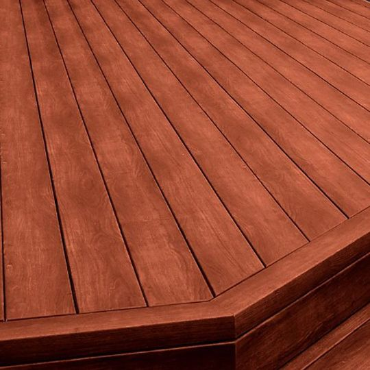 "5/4"" x 6"" x 12' Zuri® Grooved Deck Board"